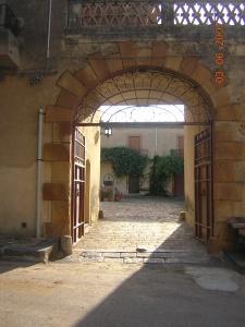 entrance baglio