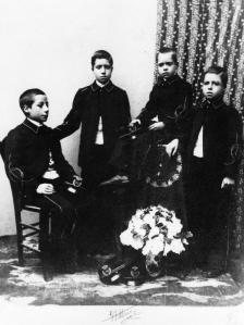 Nonno Sebastiano e i suoi fratelli 1900 ca005