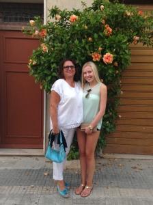 Emma and I July 2014