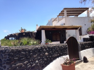 my favorite house in stromboli