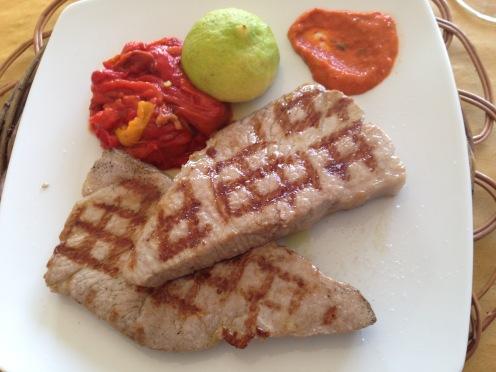 9 grilled tuna