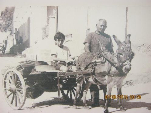 Zuccarello e papa anni sessanta