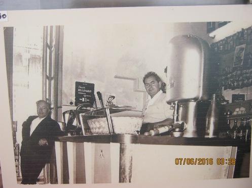 Zuccarello nonno bar first in portopalo