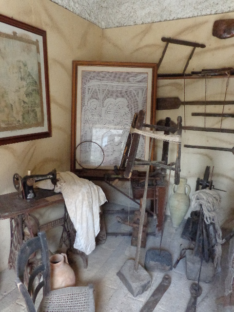 antique spinning wheel and more