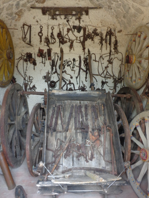 parts of old sicilian carts