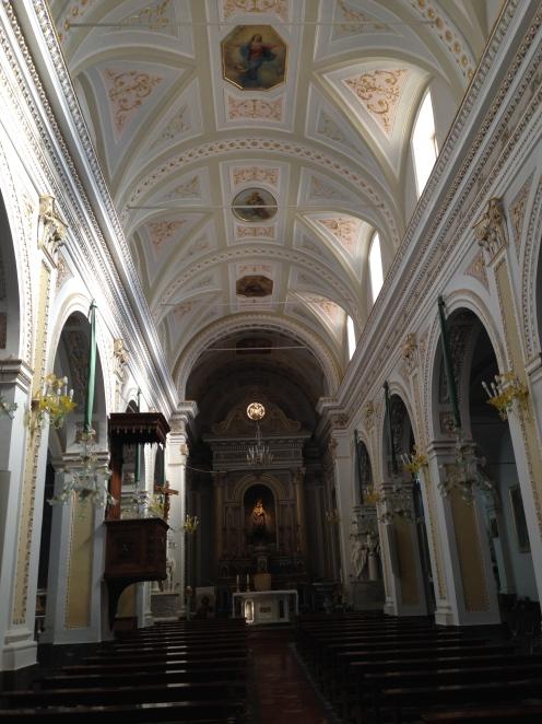 Chiesa Maria Santissima dell'Udienza interno